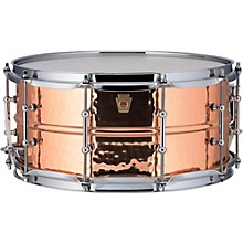 Copper Phonic Hammered Snare Drum 14 x 6.5 in. Copper Finish with Tube Lugs