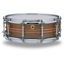 Copper Phonic Smooth Snare Drum 14 x 5 in. Raw Smooth Finish with Tube Lugs