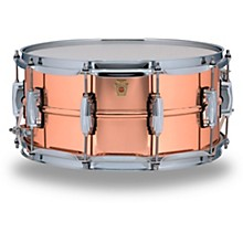 Copper Phonic Smooth Snare Drum 14 x 6.5 in. Smooth Finish with Imperial Lugs