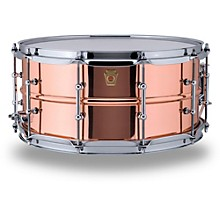 Copper Phonic Smooth Snare Drum 14 x 6.5 in. Smooth Finish with Tube Lugs