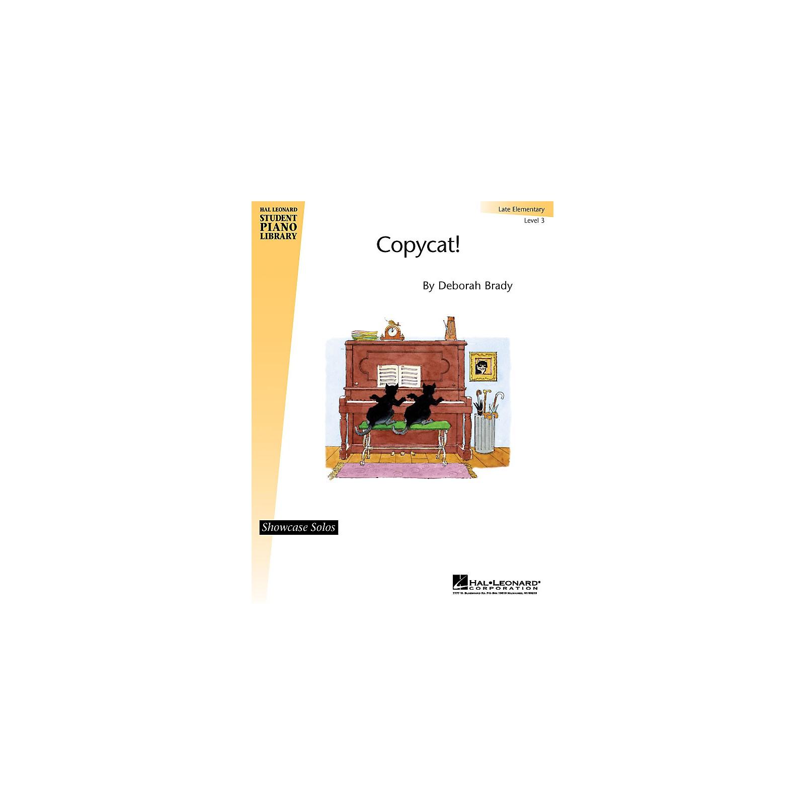 Hal Leonard Copycat! Piano Library Series by Deborah Brady (Level Late Elem)