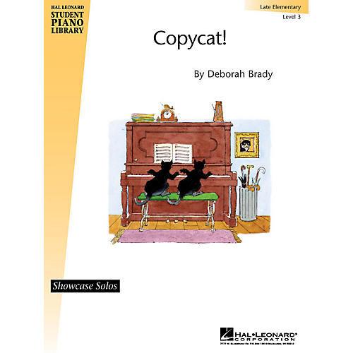 Hal Leonard Copycat! Piano Library Series by Deborah Brady (Level Late Elem)