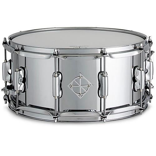 Dixon Cornerstone Steel Snare Drum 14 x 6.5 in. Chrome