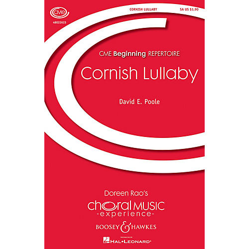 Boosey and Hawkes Cornish Lullaby (CME Beginning) SA composed by David Poole