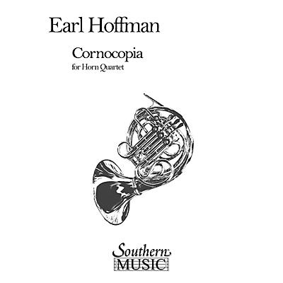 Southern Cornocopia (Horn Quartet) Southern Music Series Composed by Earl Hoffman