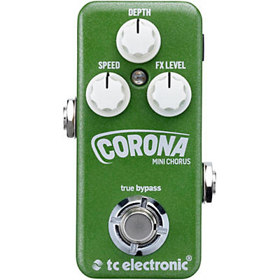 TC Electronic Corona Mini Chorus Guitar Effects Pedal