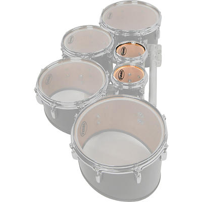 """Evans Corps Clear Tenor Drumhead 6"""" Shot 3-Pack"""