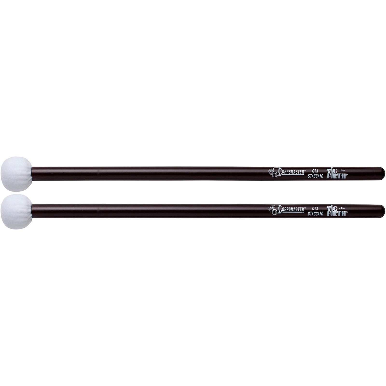Vic Firth Corpsmaster Marching Timpani Mallets