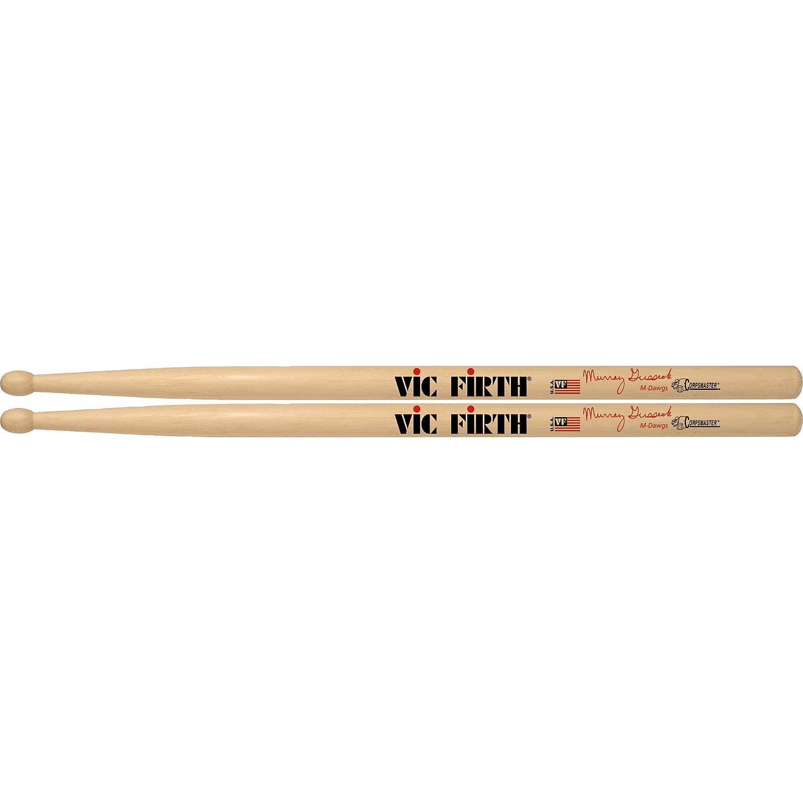 Vic Firth Corpsmaster Murray Gussek Signature Snare Drum Sticks
