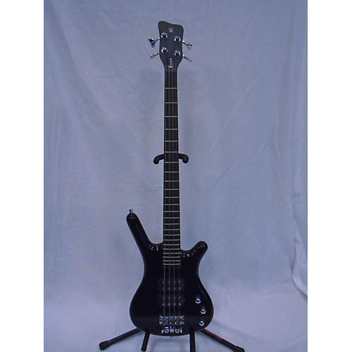 RockBass by Warwick Corvette Electric Bass Guitar Black