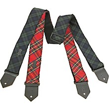Levy's Cotton Plaid Guitar Strap