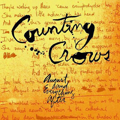 Alliance Counting Crows - August & Everything After