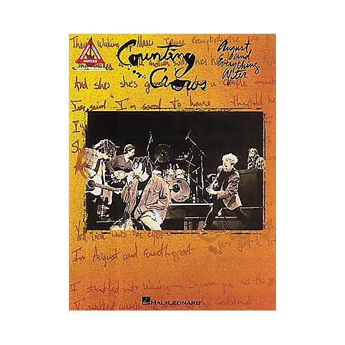 Hal Leonard Counting Crows - August and Everything After Book