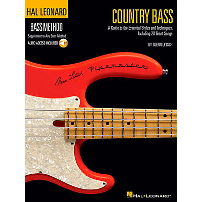 Hal Leonard Country Bass - Hal Leonard Bass Method Supplement To Any Bass Method Book/CD