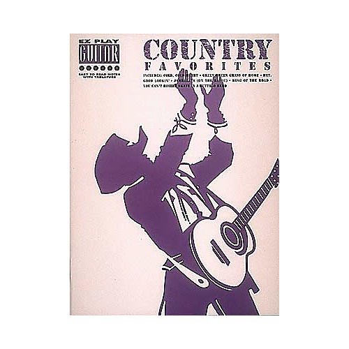Hal Leonard Country Favorites Easy Guitar Tab Songbook