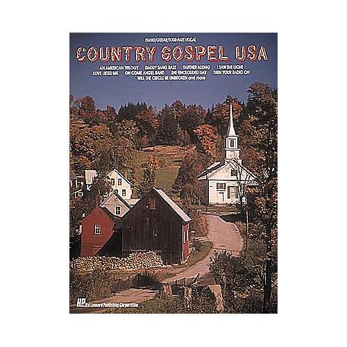 Hal Leonard Country Gospel U.S.A. Piano/Vocal/Guitar Songbook
