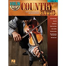 Hal Leonard Country Hits Violin Play-Along Volume 9 (Book/CD)