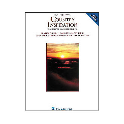 Hal Leonard Country Inspiration Piano, Vocal, Guitar Songbook