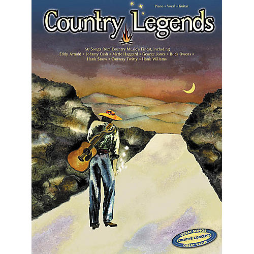 Creative Concepts Country Legends (Songbook)