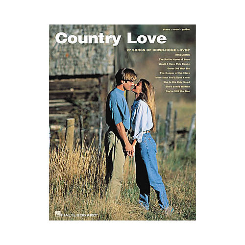 Hal Leonard Country Love Piano, Vocal, Guitar Songbook