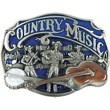 Gear One Country Music Belt Buckle