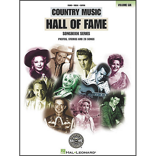 Hal Leonard Country Music Hall of Fame Volume 6 Songbook