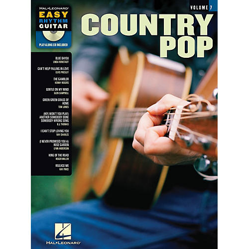 Hal Leonard Country Pop (Easy Rhythm Guitar Series Volume 7) Easy Rhythm Guitar Series Softcover with CD