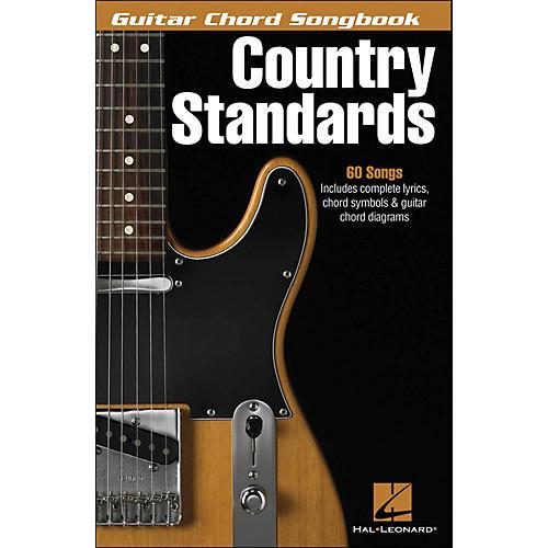Hal Leonard Country Standards Guitar Chord Songbook