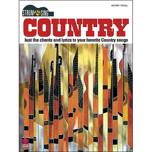 Cherry Lane Country- Strum & Sing Series