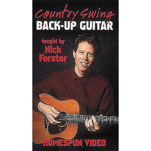 Homespun Country Swing Back-Up Guitar (VHS)