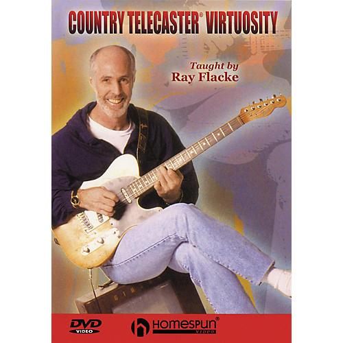 Homespun Country Telecaster Virtuosity (DVD)