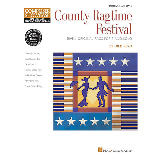 Hal Leonard County Ragtime Festival Educational Piano Library Series Softcover Composed by Fred Kern