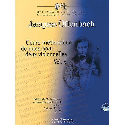 Bote & Bock Cour méthodique de duos pour deux violoncelles, Vol. 5 Boosey & Hawkes Chamber Music Softcover with CD