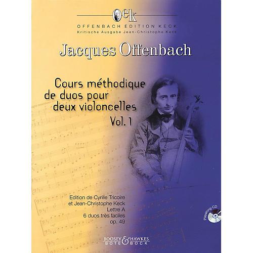 Bote & Bock Cours Méthodique de dous pour deux violoncelles - Volume 1 Boosey & Hawkes Miscellaneous Softcover with CD
