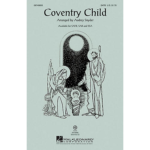 Hal Leonard Coventry Child SATB arranged by Audrey Snyder