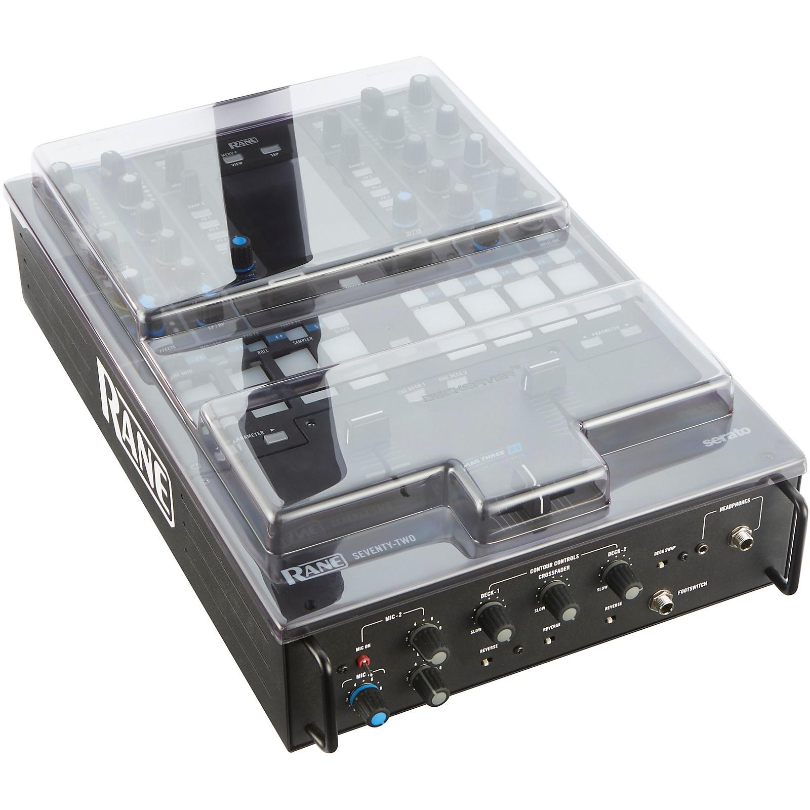 Decksaver Cover for Rane Seventy-Two Battle DJ Mixer