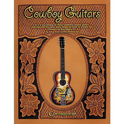 Centerstream Publishing Cowboy Guitars - Softcover Book