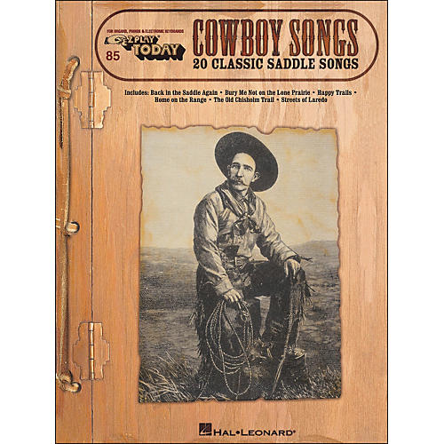 Hal Leonard Cowboy Songs E-Z Play 85