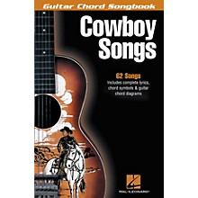 Hal Leonard Cowboy Songs Guitar Chord Songbook