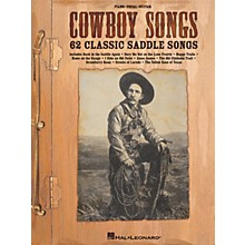 Hal Leonard Cowboy Songs Piano/Vocal/Guitar Songbook