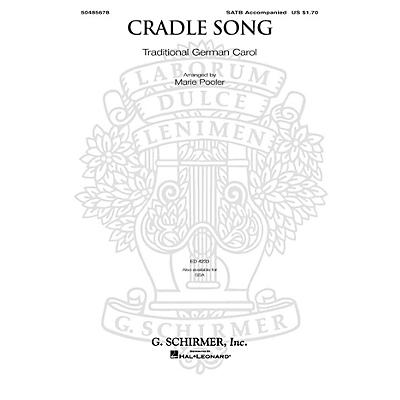 G. Schirmer Cradle Song SSA Arranged by Marie Pooler
