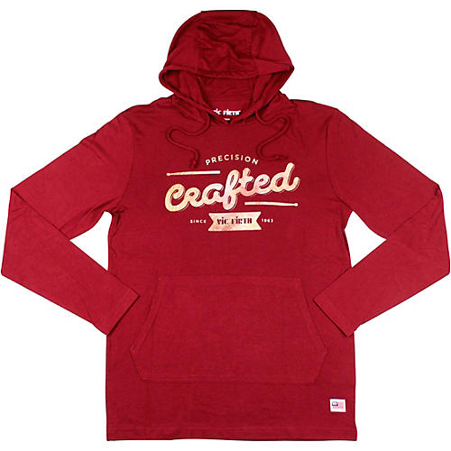 Vic Firth Craft Lightweight Hoodie XX Large Red