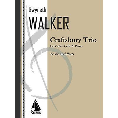 Lauren Keiser Music Publishing Craftsbury Trio (Piano, Violin, Cello) LKM Music Series Composed by Gwyneth Walker
