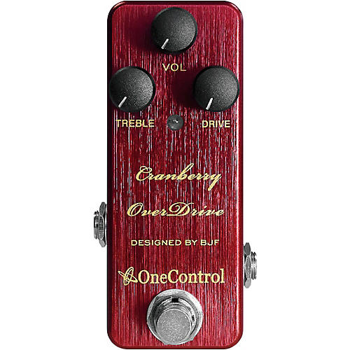 One Control Cranberry Overdrive Effects Pedal Condition 1 - Mint