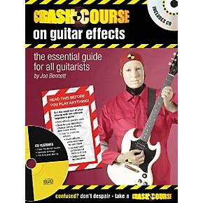 artemis music crash course on guitar effects book cd musician 39 s friend. Black Bedroom Furniture Sets. Home Design Ideas
