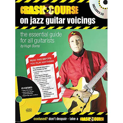 Artemis Music Crash Course on Jazz Guitar Voicings (Book/CD)