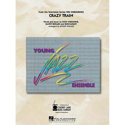 Cherry Lane Crazy Train Jazz Band Level 3 by Ozzy Osbourne Arranged by Roger Holmes