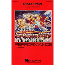 Cherry Lane Crazy Train Marching Band Level 3 Arranged by Paul Murtha