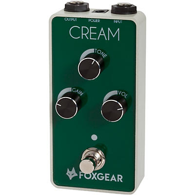 FoxGear Cream Screaming Overdrive Effects Pedal