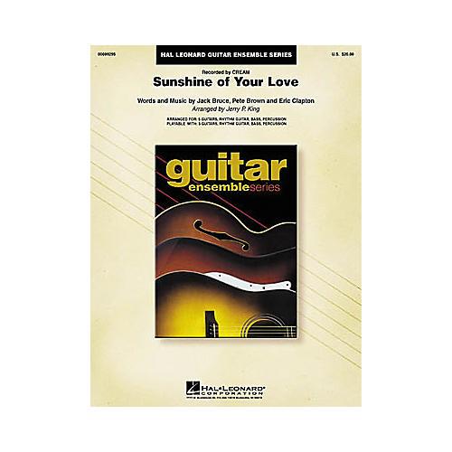 Hal Leonard Cream: Sunshine of Your Love Guitar Ensemble Book